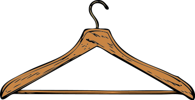 Free Clothes Hanger Clipart