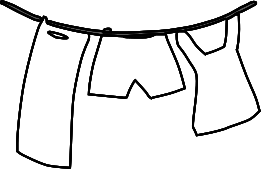 Free Laundry Clipart