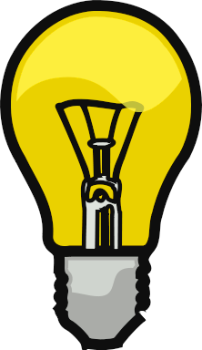 free lightbulb clipart clipart picture 5 of 40 rh clipartpal com light bulb clip art images light bulb clip art black and white