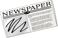 Free Newspaper Clipart