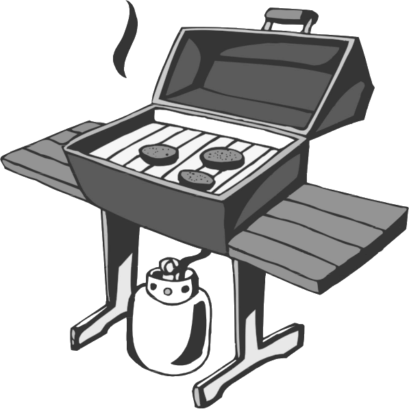 Free barbeque clipart page of public domain clip art