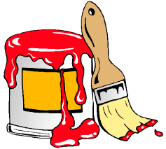 Free Painting Tools Clipart