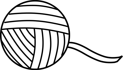 Free Sewing Coloring Page Clipart