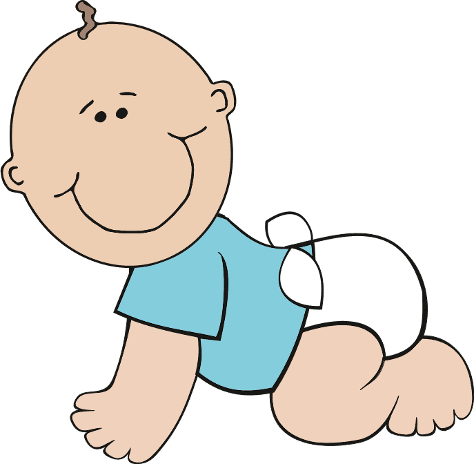 Free Baby Clipart, 3 pages of Public Domain Clip Art