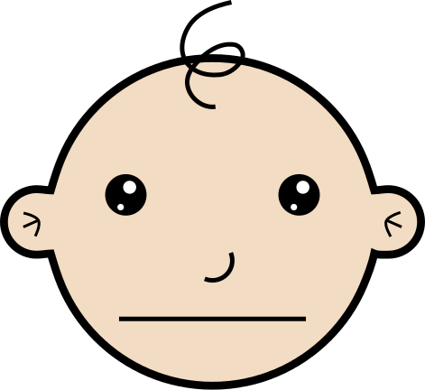 Free Baby Faces Clipart