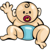 Free Baby Boy Clipart