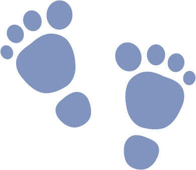 Free Foot Silhouette Clipart