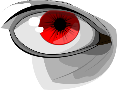 Free Red Eye Clipart