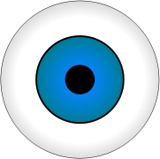 Free Eyeball Clipart