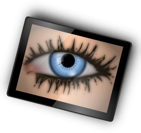 Free Creepy Eyes Clipart
