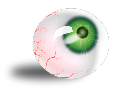 Free Bloodshot Eyes Clipart