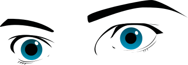 Free Eye Expression Clipart