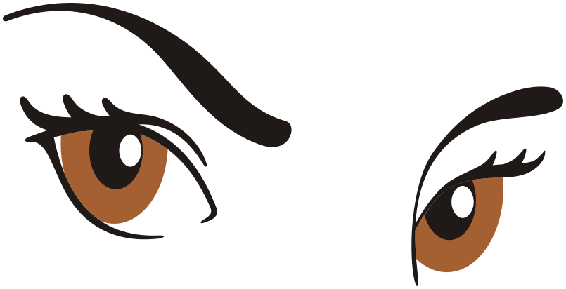 Free Eyebrow Clipart
