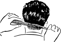 Free Hair Styling Clipart