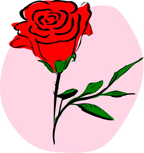 free rose clipart public domain flower clip art images and graphics rh clipartpal com red rose clipart black and white red rose clip art pictures