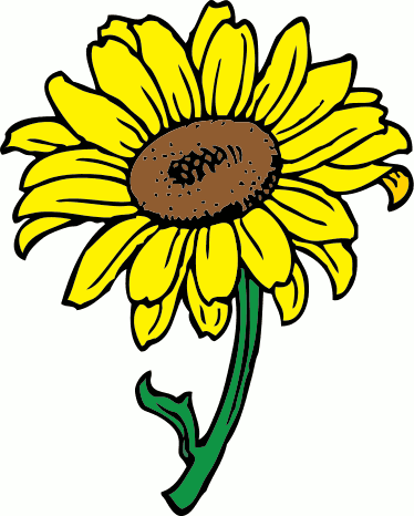 Free Sunflower Clipart