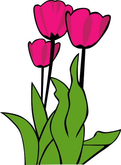 free tulip clipart public domain flower clip art images and graphics rh clipartpal com