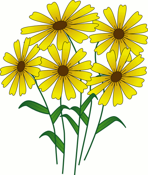 flower clip art free. Free Clipart of Baskets and