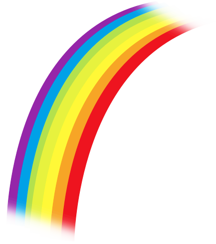 Clipart image of a rainbow, Click here to get more Free Clipart at ClipartPal.com