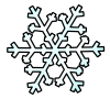Clipart of a snowflake, Click here to get more Free Clipart at ClipartPal.com