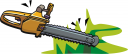 Chainsaw Clipart