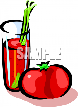 Royalty Free Juice Clipart