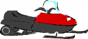 Snowmobile Clipart