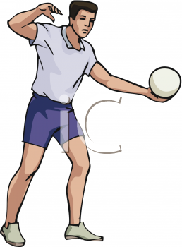 Royalty Free Volleyball Clipart