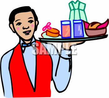 Royalty Free Clipart of Restaurant