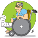 Wheelchair Clipart