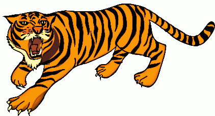 Free Hunting Tiger Clipart - Clipart Picture 3 of 9