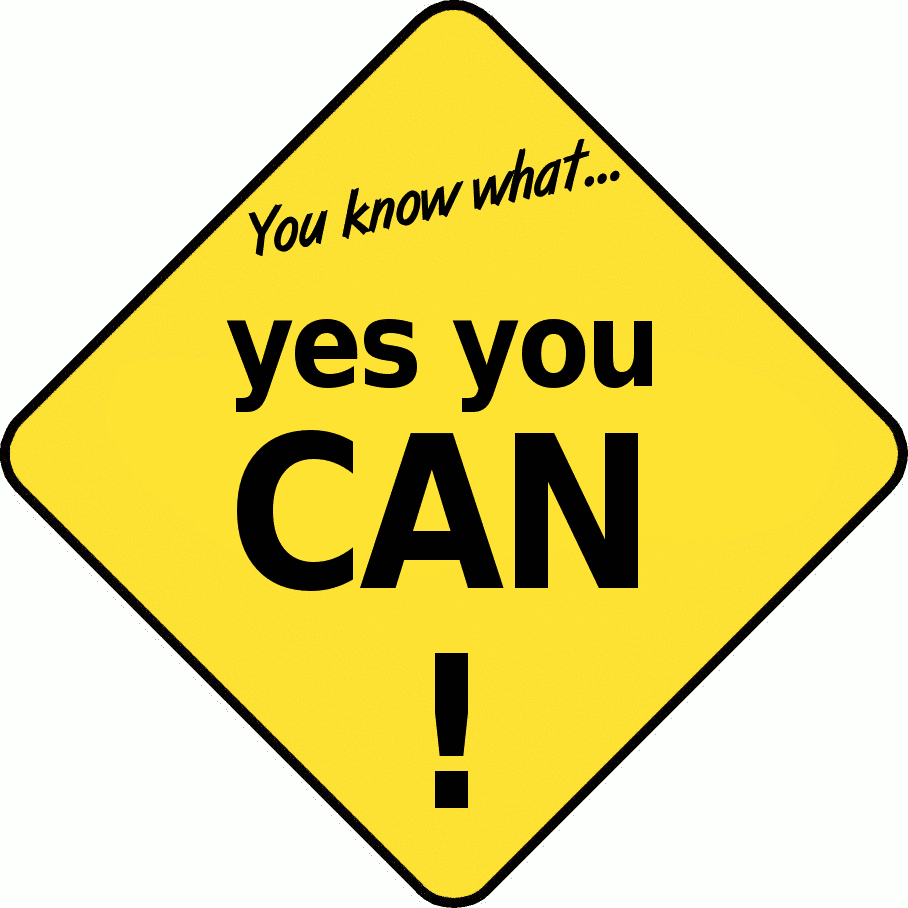 Clipart of a yellow colored diamond shaped traffic style sign for use in school with the phrase