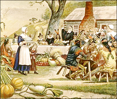 Clipart of the first thanksgiving, Click here to get more Free Clipart at ClipartPal.com
